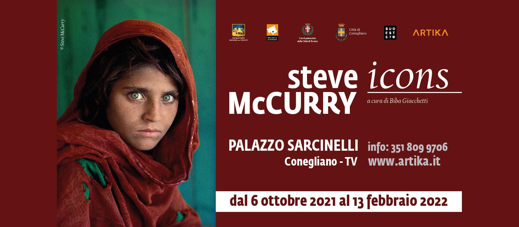 Mostra: LA RAGAZZA AFGHANA di Steve McCurry – Palazzo Sarcinelli Conegliano(TV)
